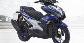 Yamaha Aerox 155 VVA R-Version Warna Biru (Racing Blue)