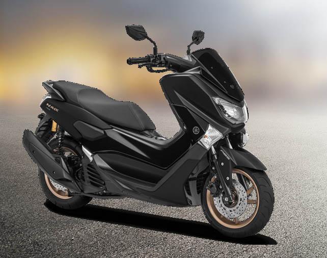 Yamaha NMAX 155 Warna Matte Black