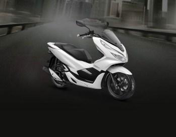 Honda PCX Warna Wonderful White