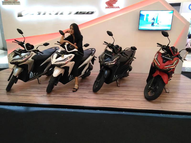 Pilihan Warna Honda Vario 150
