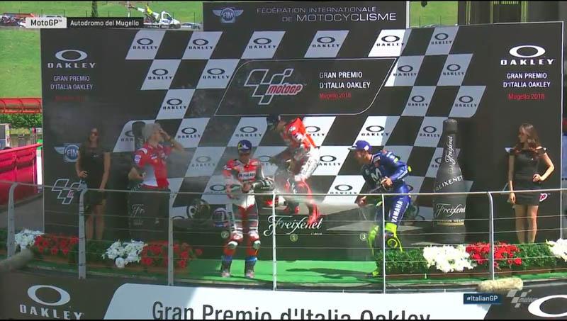 Klasemen MotoGP 2018 pasca race Mugello