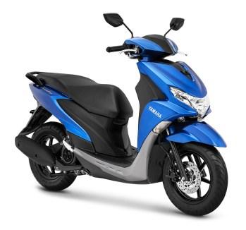 Yamaha FreeGo warna Metallic Blue
