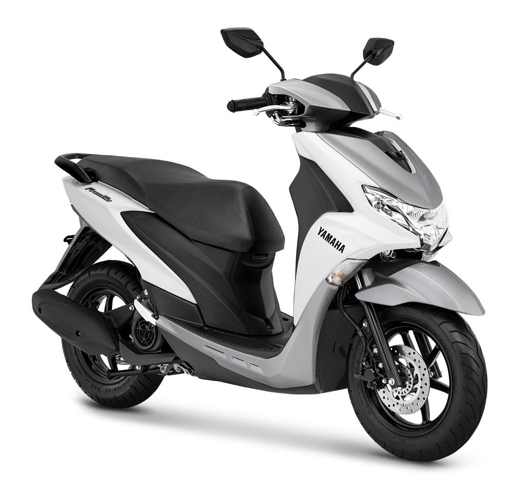 Yamaha FreeGo warna Metallic White