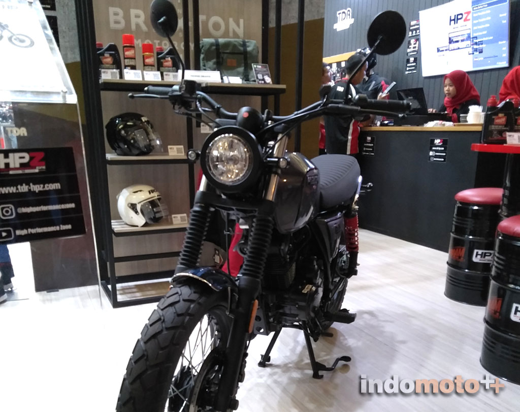 Brixton BX150 Series Motorcycle