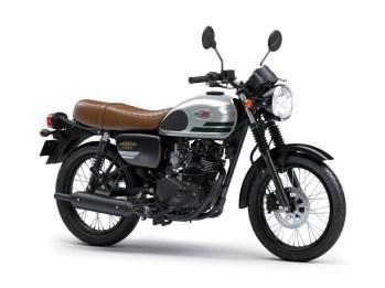 Kawasaki W175 Special Edition Warna Silver