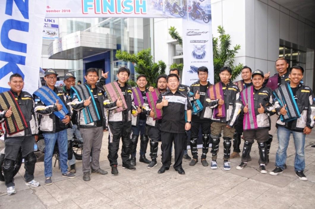 Touring Suzuki GSX150 Bandit Pekanbaru - Padang