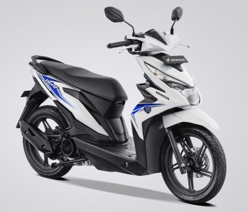 Honda BeAT eSP Warna Dance White