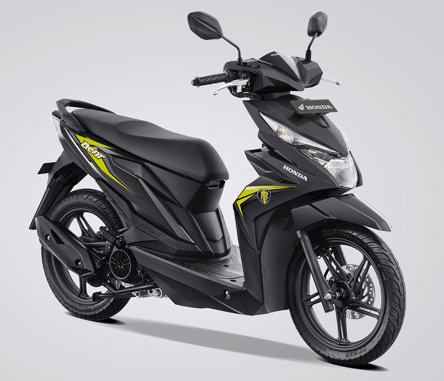 Honda BeAT eSP Warna Garage Black