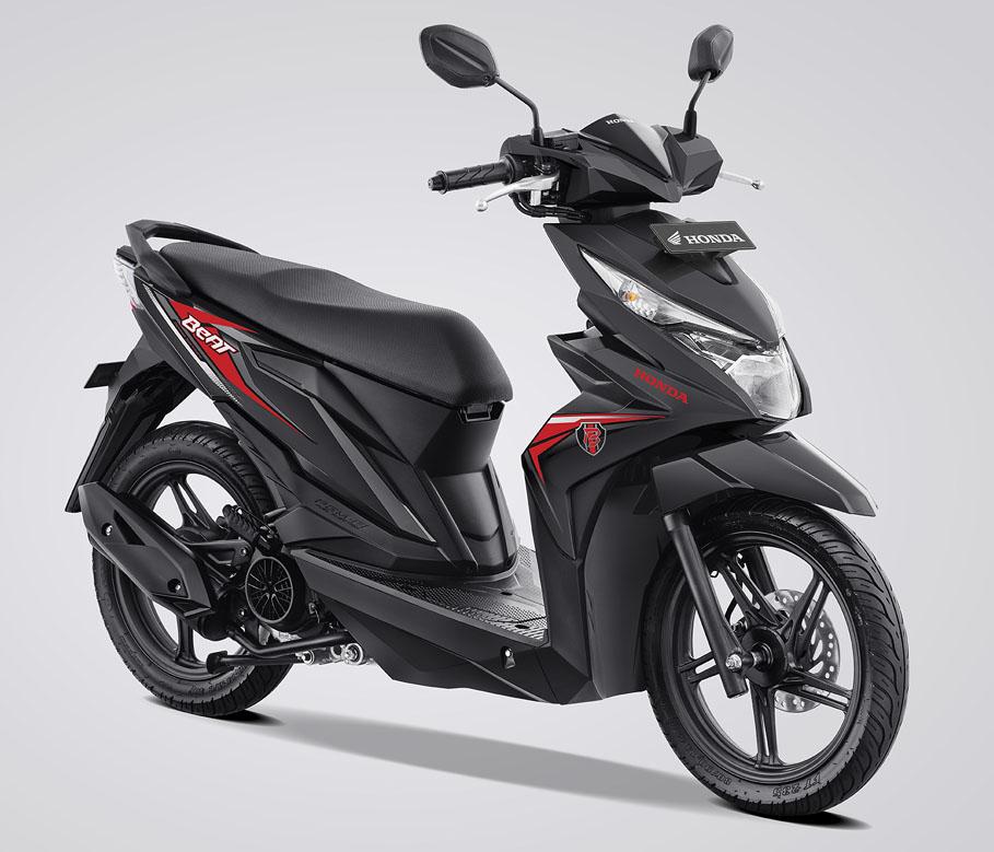Honda BeAT eSP Warna Hard Rock Black