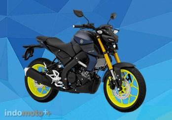 Yamaha MT15 Warna Matte Blue