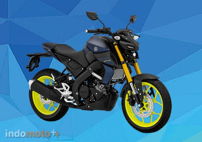 Yamaha MT15 Warna Matte Blue