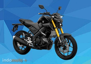 Yamaha MT15 Warna Metallic Black