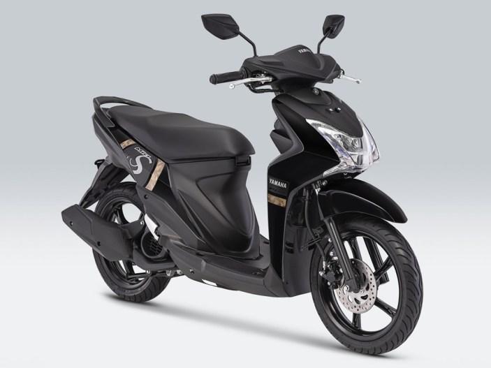 Yamaha Mio S Warna Mighty Black