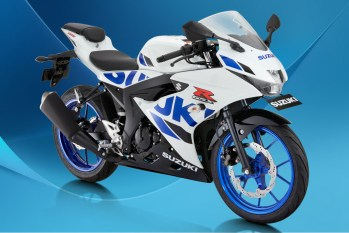 Suzuki GSX-R150 Warna Brilliant White