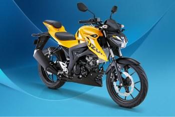 Suzuki GSX-S150 Warna Daytona Yellow