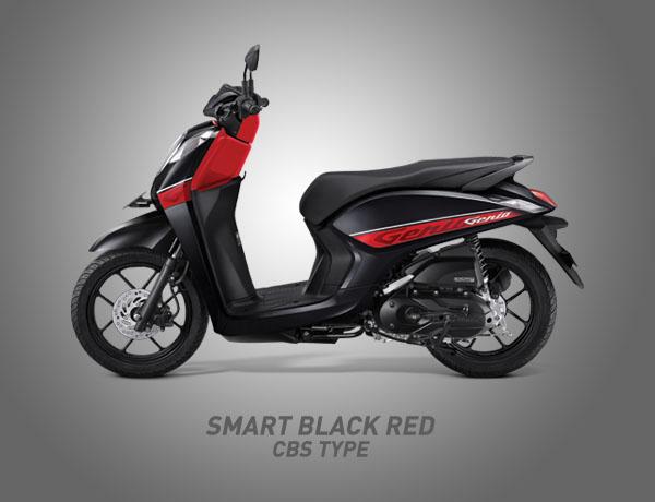 Honda Genio Warna Smart Black Red