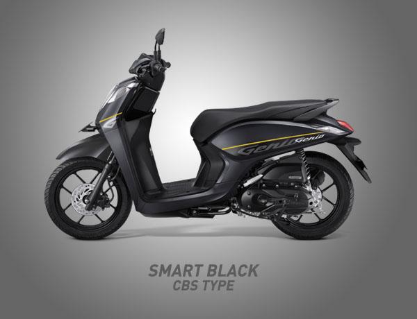 Honda Genio Warna Smart Black