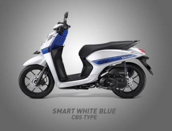 Honda Genio Warna Smart White Blue
