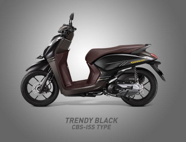 Honda Genio Warna Trendy Black