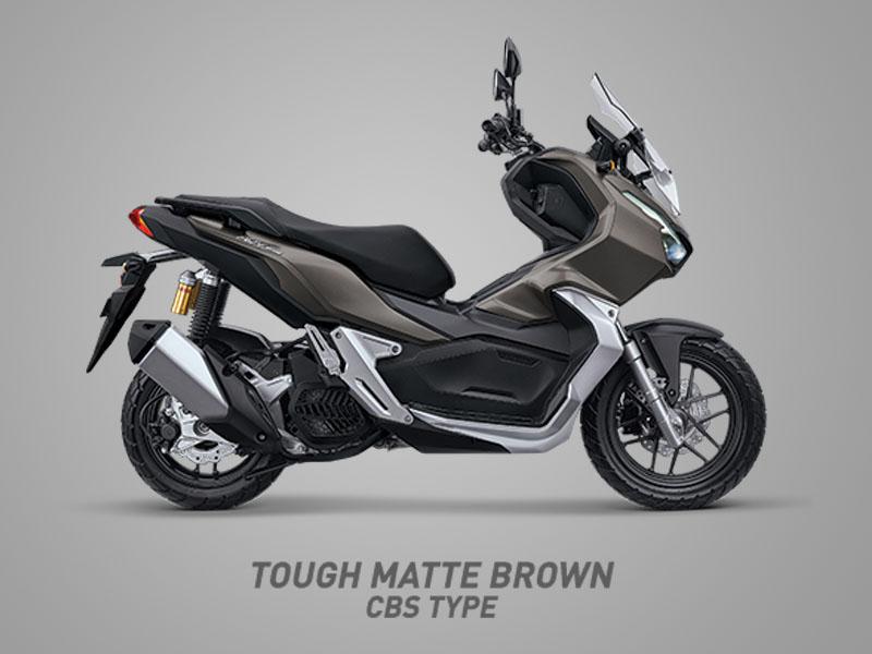 Honda ADV150 warna tough matte brown