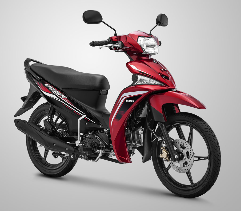 Yamaha Vega Force Warna Metallic Red (Merah)