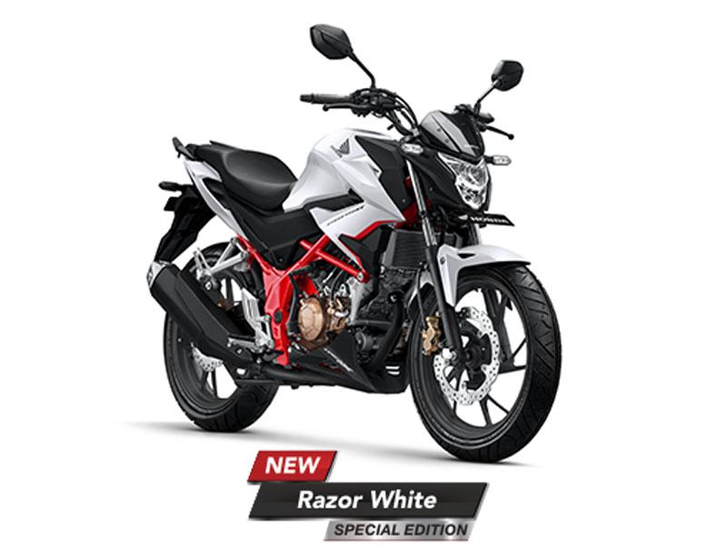 Honda CB150R Streetfire Warna Razor White