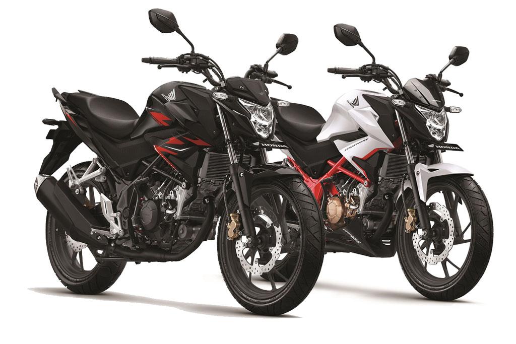 Pilihan Warna Baru Honda CB150R Streetfire 2019