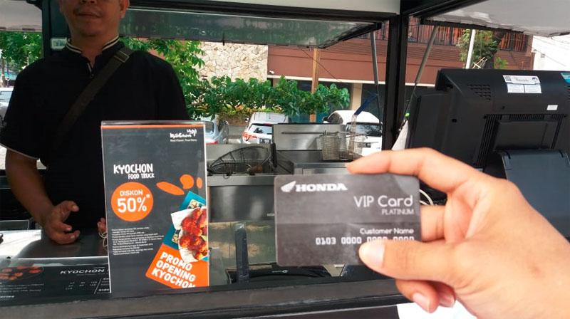 Honda VIP Card