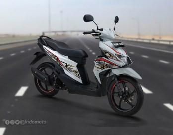 Suzuki Nex II Varian Fancy Dynamic Warna Brilliant White