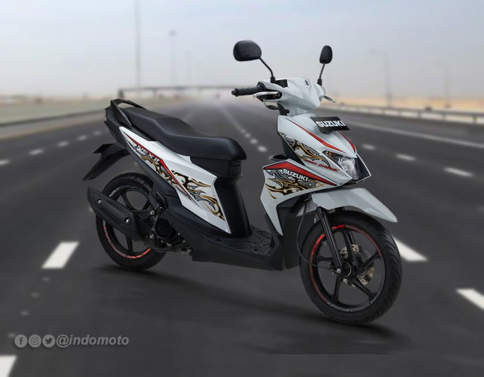 Suzuki Nex II Varian Fancy Dynamic Warna Brilliant White