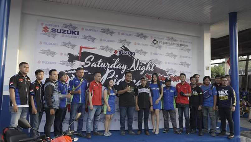 Suzuki Saturday Nite Ride Manado