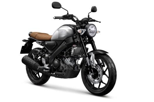 Yamaha XSR 155 Warna Silver
