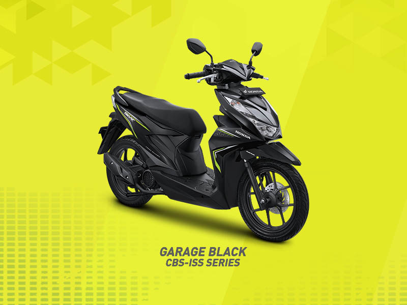Honda Beat 2020 warna Garage Black