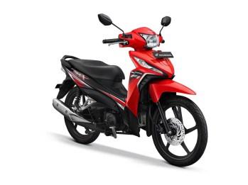 Honda Revo X Warna Attractive Red