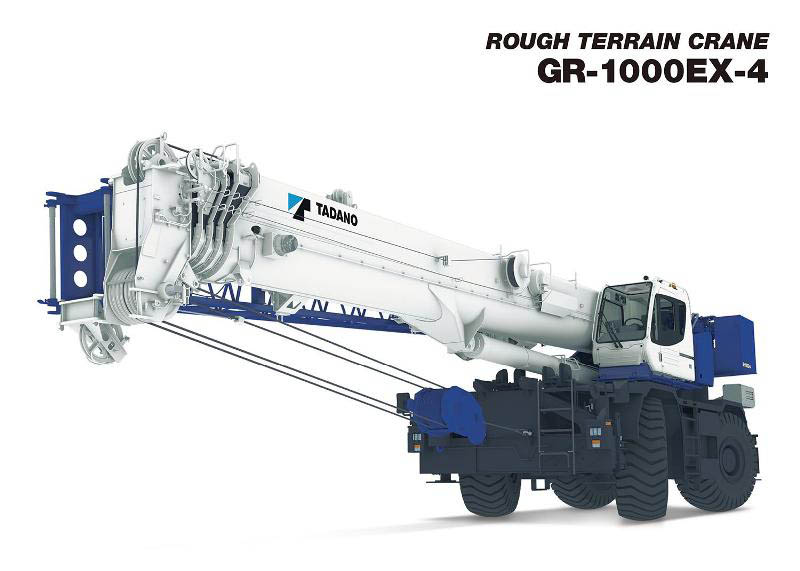 Tadano Rough Terrain Cranes