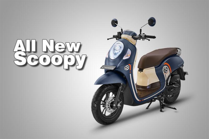 Pilihan warna all new scoopy 2021