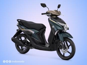 Yamaha GEAR 125 Warna Matte Greenish