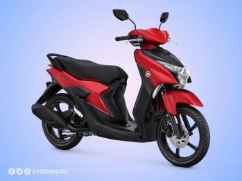 Yamaha GEAR 125 Warna Matte Red