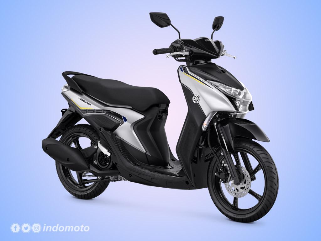 Yamaha GEAR 125 Warna Matte Silver