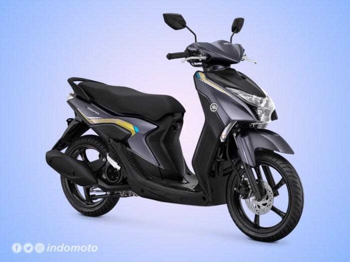 Yamaha GEAR 125 Warna Metallic Grey