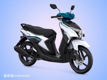 Yamaha GEAR 125 Warna Metallic White
