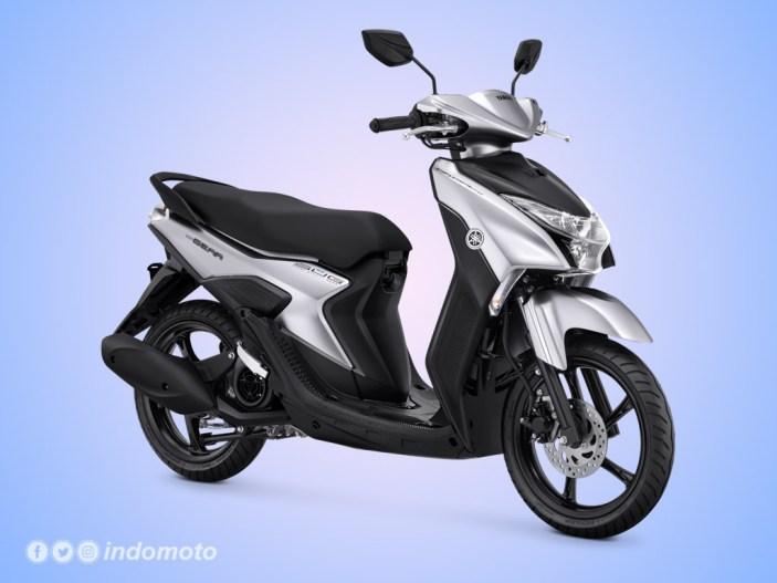 Yamaha GEAR 125 Warna Prestige Silver