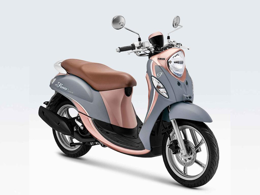 Yamaha Fino Warna Creamy Grey