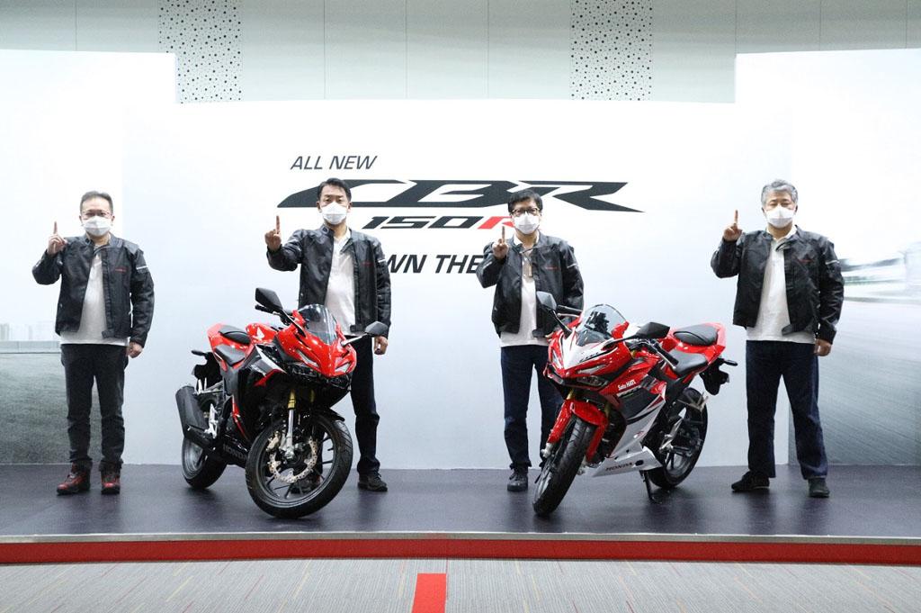 Launching All New Honda CBR150R 2021