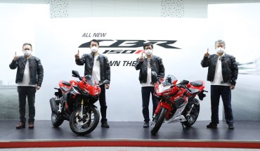 Launching All New Honda CBR150R 2021