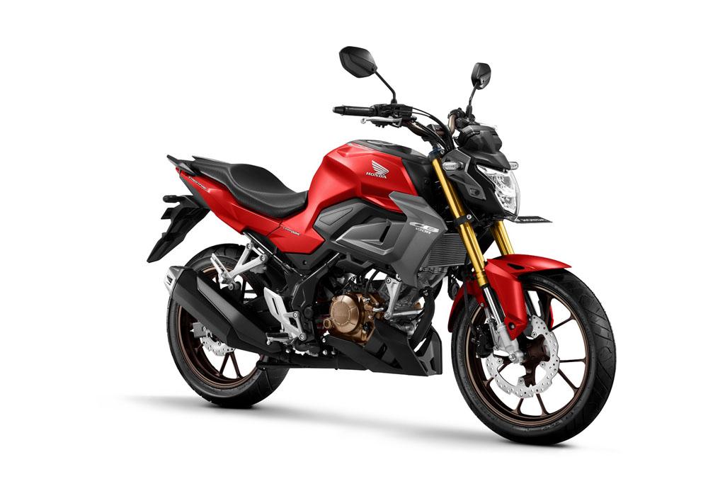 All New Honda CB150R Streetfire Special Edition Warna Fury Matte Red