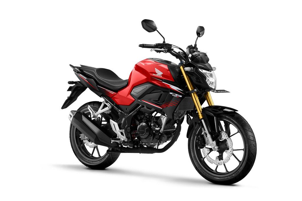 All New Honda CB150R Streetfire Warna Stinger Red Black