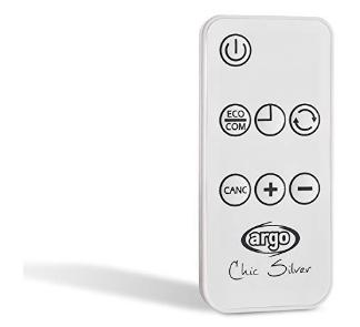 ARGO Chic Silver - Remote control