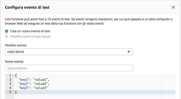 AWS Amazon Web Services - Lambda - TEST