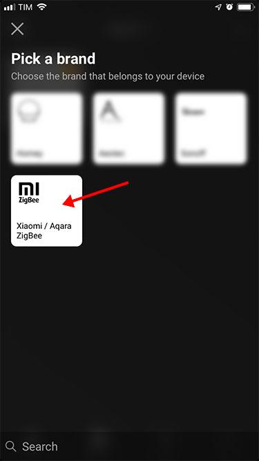 App Homey – Xiaomi – Aggiunta dispositivo - 1